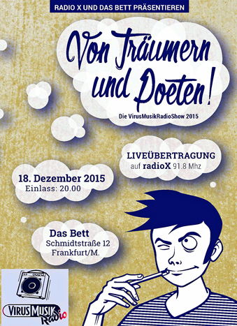 01 Flyer VirusMusikRadioShow2015