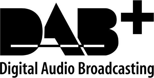 radio x DAB+ Plus Logo